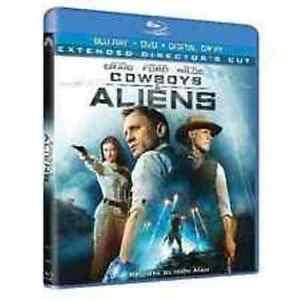 Blu Ray  COWBOYS & ALIENS - (2011) (Blu-Ray+Dvd+Digital Copy)  ......NUOVO