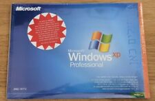 RARE MICROSOFT WINDOWS XP PROFESSIONAL OPERATING SYSTEM MS WIN PRO NEW SEALED