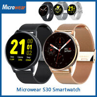 Microwear S30 Sports Smart Watch ECG Heart Rate Body Temperature Sleep Monitor