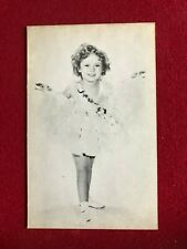 """1930's, Shirley Temple, """"Exhibit"""" Card (Scarce / Vintage)"""
