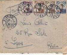 Vietnam Cover/Letter Hanoi 1923 >> France