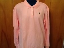 Disney Store Embroidered Pink Mickey L/S Polo Shirt - Women's XXL (NWOT)