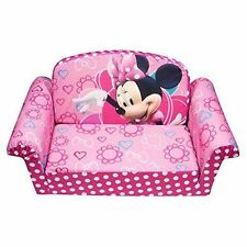 Marshmallow Children's Furniture - 2 in 1 Flip Open Sofa - Disney's Minnie Mouse