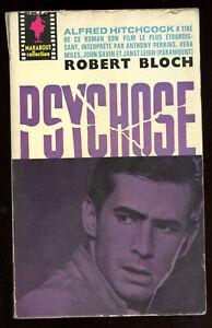 ROBERT BLOCH: PSYCHOSE. MARABOUT 1960.
