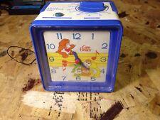 Vintage 1984 Care Bears AM/FM Alarm Clock Radio Bradley Quartz (b32)
