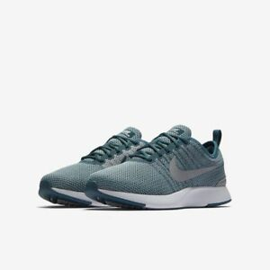 Nike Dualtone Racer Junior Youth Unisex Size 7Y Trainers Shoes Jade/Grey NIBOX