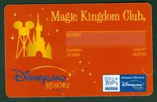 PASSEPORT DISNEY MAGIC KINGDOM CLUB NESTLE  ETAT BON ETAT  N° 24 COLLECTION