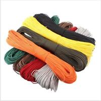 550 Paracord Parachute Cord Lanyard Mil Spec Type III 7 Strands Core