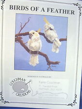 Sulfur-Crested Cockatoo Counted Cross Stitch Chart