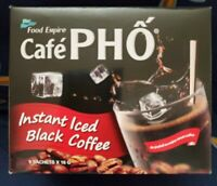CafePho Viet Iced Black coffee instant coffee & Creamer drink mix - 9 Sachets /