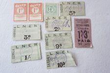 More details for lner railway newspaper parcel letter stamp x10