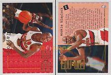 NBA FLEER 1995-1996 SERIES 2 - Mookie Blaylock, Hawks # 470 - Near Mint