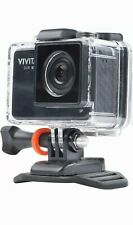 Vivitar 4K Action Camera with Remote Black (DVR917HD-BLK-BB) open box never used