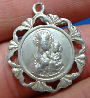 Religious Medallion. Jesus Christ and the Mother of God.