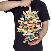 Large Parrot Chewing Toy - Bird Parrot Blocks Ks Tea Toy Bird Cage Bite