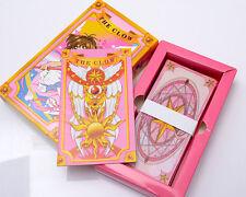 Japan Anime Card Captor Sakura Figure Cosplay 55PCS The Clow Cards New in Box