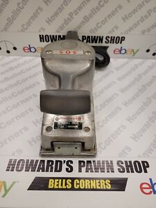 Vintage Rockwell Canada 505 Heavy Duty Sander 3 Amp - Tested Works! Free Ship✈