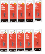 10 packs MINI Utility KNIFE  Replacement Blades -  5 blades each for 50 blades