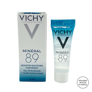 NEW Vichy Mineral 89 Skin Fortifying Daily Booster | 4mL Sample Size