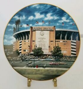 """Baltimore Memorial Stadium """"Home of the Orioles"""" Plate by David Henderson"""