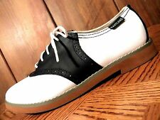 Eastland Sadie Oxford Women's Black and White Shoes Memory Foam Insole Size 6.5