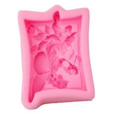 Angel Flower Fairy Silicone Soap Molds Craft Molds DIY Handmade Soap Mould New J