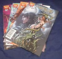 Witchblade Shades Of Gray 1, 2, 3 & 4 Complete Run Set (Image Comics 2008)