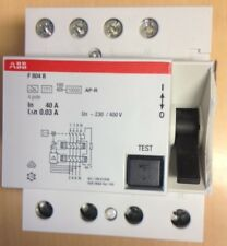 ABB FI Schutzschalter F804B-40/0,03 AP-R Allstromsensitiv NEU,80/4/30mA,0,03A