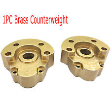 Heavy Wheel Brass Counterweight Replacement for Redcat GEN8 RC Racing Car Parts