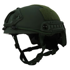 Military Tactical Kevlar Helmet OD Green  M/L Size LVL IIIA Ballistic Helmet