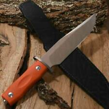 Maserin 977 arancione bowie Coltello Caccia Campeggio Escursioni 977