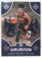 Coby White RC 2019-20 Chronicles CRUSADE Chrome Rookie Card 543 Chicago Bulls ??