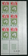 TAAF timbre/stamp - Yvert et Tellier n°162 x 6 Coin daté 12.10.90 n** (Cyn13)