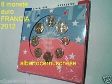 2012 8 monete 3,88 euro fdc FRANCIA BU France KMS Frankreich Франция