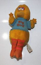 Vintage Big Bird Plush Stuffed Animal Sesame Street Muppets 1981 Knickerbocker