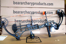 NEW Bear Archery Wild RTH 60# RH Bow Package OLIVE Green Hunt Ready LIMITED QTYS