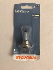 Sylvania H7 Basic Halogen Headlight Bulb, (Pack Of 1)