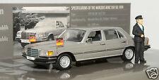 1/43 Minichamps 436039200 Mercedes Benz 350 SEL 1974 Helmut Schmidt MIB
