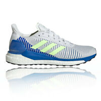 adidas Mens Solar Glide ST 19 Running Shoes Trainers Sneakers - Blue White