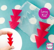 SILICONE EARRING MOLD - Arrow Triangle Statement Resin Dangle Earrings Mould