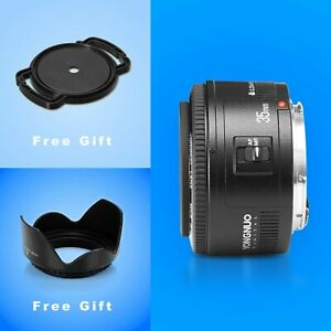 YongNuo YN35MM F2 wide-angle Large Aperture Auto Focus Lens for Canon EOS Camera