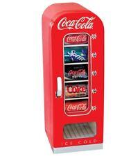 Coca Cola Beverage Cooler Mini Refrigerator Coke Drink Office Dorm RV Home Retro