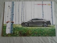 Chevrolet Malibu brochure 2010 USA MARKET