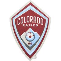 Colorado Rapids Primary Soccer Team Crest Pro-Weave Jersey MLS Futbol Patch