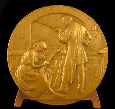Médaille armurier arme exposition universelle Liège 1905 Gustave Francotte Medal