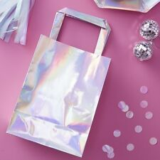 Unicorn / Mermaid theme Party Bags - Metallic Silver party bags
