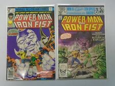 Power Man and Iron Fist #57+75 UK edition 4.0 VG (1979+81)