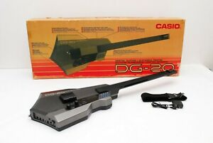 DG-20 CASIO Digital Guitar 🎶 with BOX & STRAP Used  MIDI Synthesizer from Japan