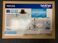 Brother Embroidery Machine PE535 - 80 Built-in Designs - Large LCD Color