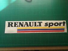 RENAULT CLIO SPORT francese sticker MEGANE 225 172 Turbo F1 182 TAZZA Decalcomania 400 mm